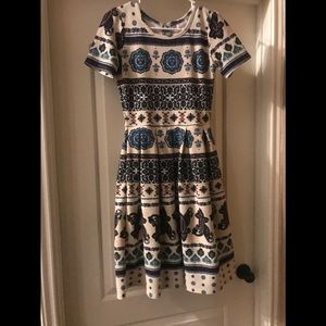 Lularoe Amelia Dress. Small. Perfect condition
